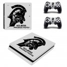 Kojima Productions decal skin sticker for PS4 Slim console and controllers