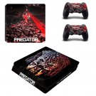 The Predator decal skin sticker for PS4 Slim console and controllers