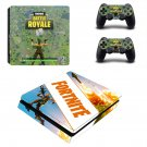 Fortnite battle royale decal skin sticker for PS4 Slim console and controllers