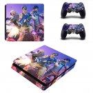 Fortnite survive the Storm decal skin sticker for PS4 Slim console and controllers