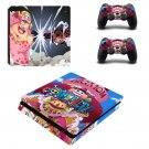 One Piece decal skin sticker for PS4 Slim console and controllers