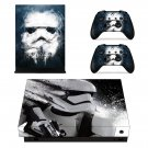 Star wars Stormtrooper decal skin sticker for Xbox One X console and controllers