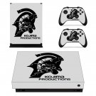 Kojima Productions decal skin sticker for Xbox One X console and controllers