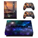 Starfield decal skin sticker for Xbox One X console and controllers