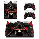 Wolfenstein decal skin sticker for Xbox One X console and controllers