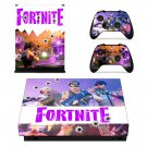 Fortinte decal skin sticker for Xbox One X console and controllers