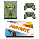 Fortnite survive the Storm decal skin sticker for Xbox One X console and controllers