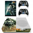 Halo 4 decal skin sticker for Xbox One S console and controllers