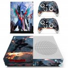 Devil May Cry 5 decal skin sticker for Xbox One S console and controllers