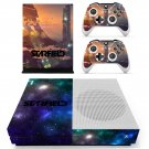 Starfield decal skin sticker for Xbox One S console and controllers
