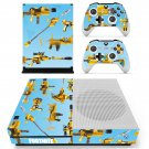 Fortnite Guns decal skin sticker for Xbox One S console and controllers