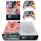 One Piece decal skin sticker for Xbox One S console and controllers
