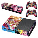 Onepiece decal skin sticker for Xbox One console and controllers