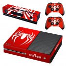 Spider Man decal skin sticker for Xbox One console and controllers