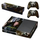 Cyberpunk decal skin sticker for Xbox One console and controllers