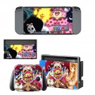 Onepiece decal skin sticker for Nintendo Switch console and controllers