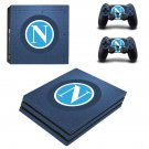 SSC Napoli decal skin sticker for PS4 Pro console and controllers