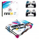 FIFA 19 decal skin sticker for PS4 Pro console and controllers