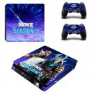 Fortnite decal skin sticker for PS4 Slim console and controllers