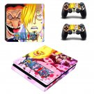 Onepiece decal skin sticker for PS4 Slim console and controllers