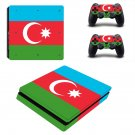 Azerbaijan decal skin sticker for PS4 Slim console and controllers