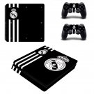 Real Mardrid FC decal skin sticker for PS4 Slim console and controllers