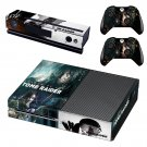 Tomb Raider decal skin sticker for Xbox One console and controllers
