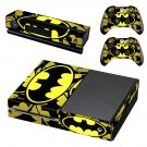 Batman decal skin sticker for Xbox One console and controllers