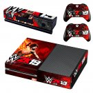 WWE 2k18 Soundtrack decal skin sticker for Xbox One console and controllers