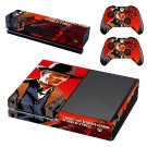 Red Dead Redemption 2 decal skin sticker for Xbox One console and controllers