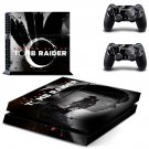 Tomb Raider decal skin sticker for PS4 console and controllers