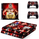 WWE 2K19 decal skin sticker for PS4 console and controllers
