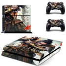 Sekiro decal skin sticker for PS4 console and controllers