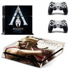 Assassins Creed Odyssey decal skin sticker for PS4 console and controllers