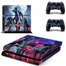 Devil May Cry 5 decal skin sticker for PS4 console and controllers