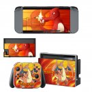 Pokemon go Charizard decal skin sticker for Nintendo Switch console and controllers