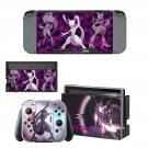 Pokemon go Mewtwo decal skin sticker for Nintendo Switch console and controllers