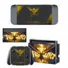 Pokemon Go Team Instinct decal skin sticker for Nintendo Switch console and controllers