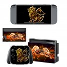 Electabuzz Wallpaper decal skin sticker for Nintendo Switch console and controllers