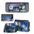 FIFA 19 decal skin sticker for Nintendo Switch console and controllers