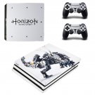 Horizon Zero Dawn decal skin sticker for PS4 Pro console and controllers