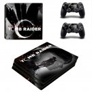 Tomb Raider decal skin sticker for PS4 Pro console and controllers