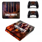 Call of Duty black ops 4 decal skin sticker for PS4 Slim console and controllers