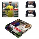 PES 2019 decal skin sticker for PS4 Slim console and controllers