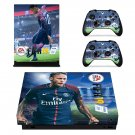 FIFA 19 decal skin sticker for Xbox One X console and controllers