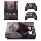 Sekiro decal skin sticker for Xbox One X console and controllers