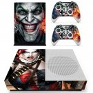 Joker decal skin sticker for Xbox One S console and controllers