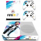 FIFA 19 decal skin sticker for Xbox One S console and controllers