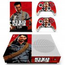 Red Dead Redemption 2  decal skin sticker for Xbox One S console and controllers