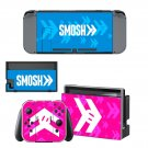 Smosh decal skin sticker for Nintendo Switch console and controllers